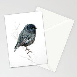 Black Robin Stationery Cards