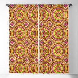 Batik Bullseye Blackout Curtain