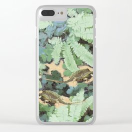 The Lizard Lounge Clear iPhone Case