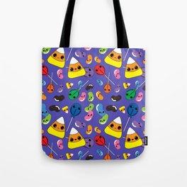 Kawaii Halloween Candy Tote Bag