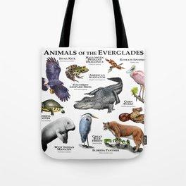 Animals of the Florida Everglades Tote Bag