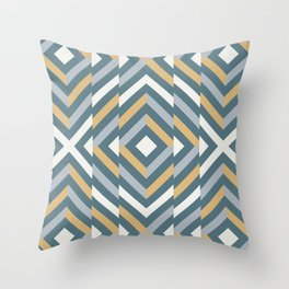 Broken geometric pattern 2 Throw Pillow