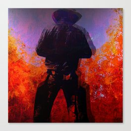Cowboy 2 Canvas Print