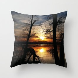 Release The Day Throw Pillow