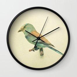 Bird Study #2 Wall Clock