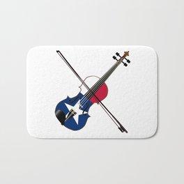 Texas Fiddle Bath Mat
