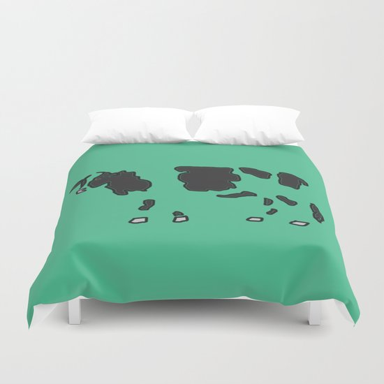 Cow Spots Duvet Cover