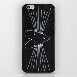 radiant heart iPhone Skin