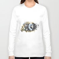 blade runner Long Sleeve T-shirts featuring Sketchbook by Sandra Ink