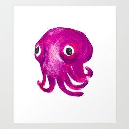 Stubby Squid! Rossia pacifica! Art Print