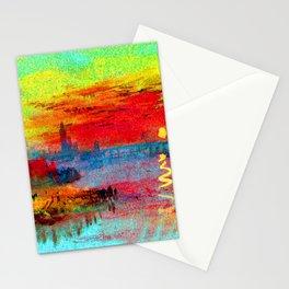 William Turner Scarlet Sunset Stationery Cards