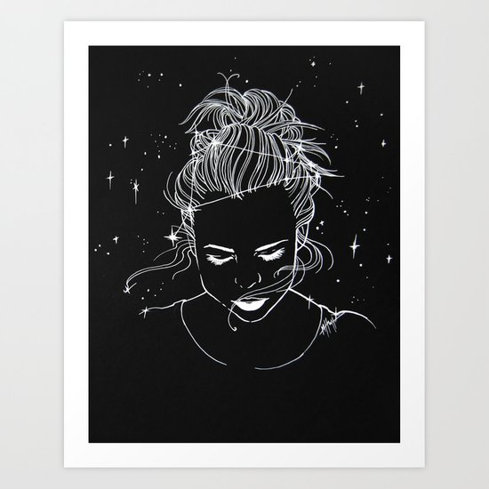 Written in the Stars Art Print