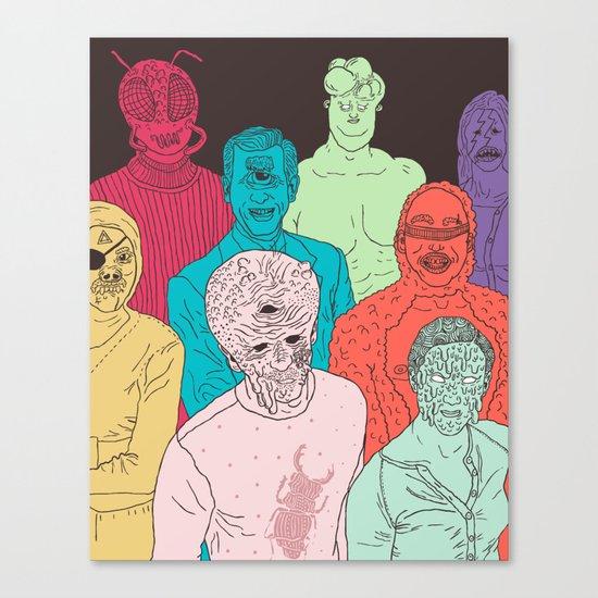 Friends of Beetleman Canvas Print