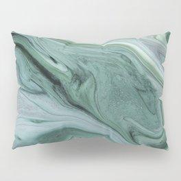 Marble green Pillow Sham