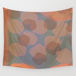 Peachy Colors Wall Tapestry