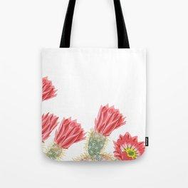 Cacti flower Tote Bag