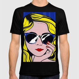 Pop Art Glamour Girl T-shirt