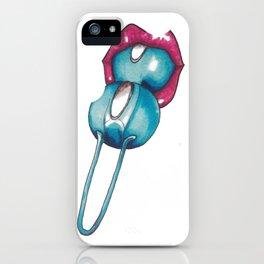 Geisha balls iPhone Case