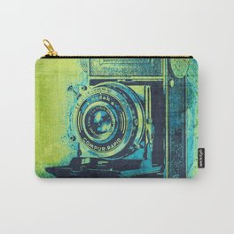 Green Retro Vintage Kodak Camera Carry-All Pouch