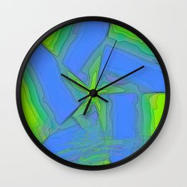 Rising Star Abstract Wall Clock