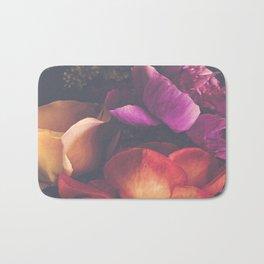 Color Burst Florals Bath Mat