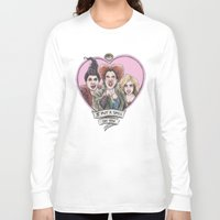 hocus pocus Long Sleeve T-shirts featuring It's all a bunch of Hocus Pocus by Tiffany Willis