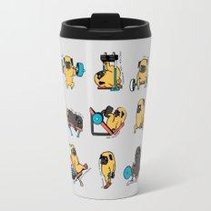Leg Day with The Pug Travel Mug