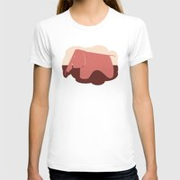 eames T-shirts featuring Eames Elephant by Ruby