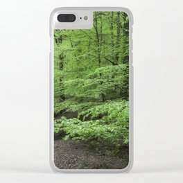 Arching Boughs Clear iPhone Case