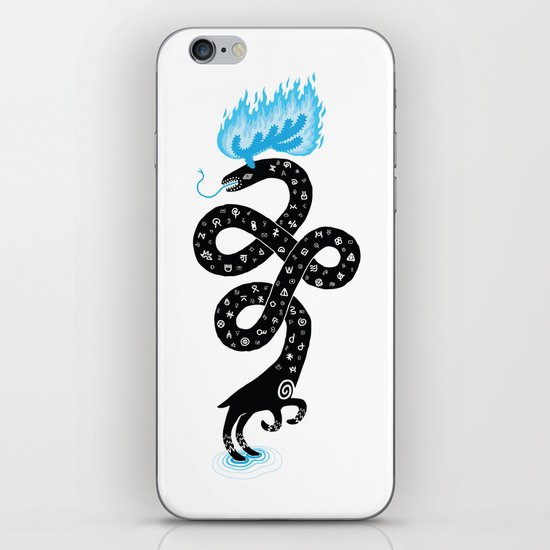 The Puzzling Beast iPhone & iPod Skin