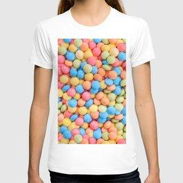 Sweet & Sour Pastel Candy Tarts Pattern T-shirt