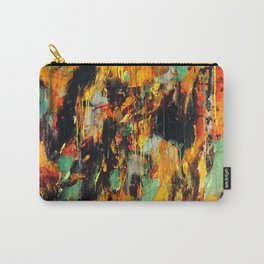 Untitled Abstract - Taunting Jester Carry-All Pouch