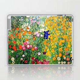 Flower Garden by Gustav Klimt vibrant Laptop & iPad Skin