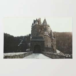 Finally, a Castle - landscape photography Rug