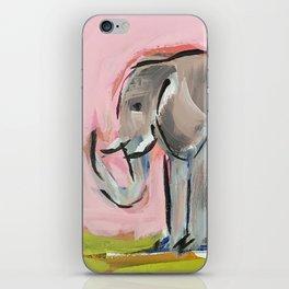Elated Elephant iPhone Skin