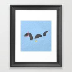 Accidental Legends: Loch Ness Framed Art Print