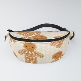 SWEATER PATTERN GINGERBREAD COOKIE Fanny Pack
