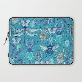 blue bugs Laptop Sleeve