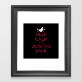 "Teen Wolf-""Join the Pack"" Framed Art Print"
