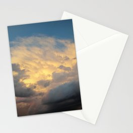 Angry Skies, Sad Goodbyes Stationery Cards