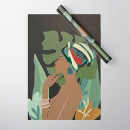 Woman with a Tuban Wrapping Paper