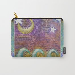 Starry Ocean Dreamtime Carry-All Pouch