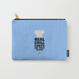 Real Grill Chefs are from Beijing T-Shirt Carry-All Pouch