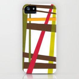 Dream Weaver in Pink/Brown iPhone Case