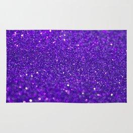 Bright Purple Glitter Rug
