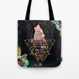 ACOWAR - You Are A Wolf Tote Bag