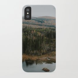 Tall Pines iPhone Case