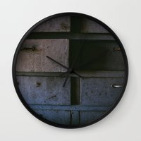 wisconsin Wall Clocks featuring Wisconsin Workbench  by Memoirs of a Pilgrim - The Shop