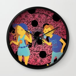 Young ones Wall Clock
