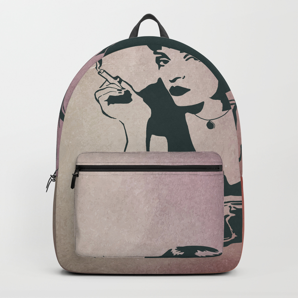 Pulp Fiction, Mia Wallace Backpack by Munamia BKP7797719